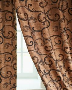 """Gia"" Curtains at Horchow. #Americanmade"