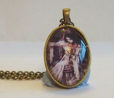 Checkout this amazing product Handcrafted Antique Bronze Glass Pendant Gothic by DBHjewellery, $8.75 at Shopintoit