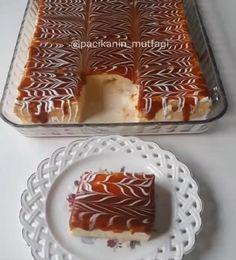 Bu tarif tam tadında tam ayarında harika oluyor 👌 Hem çok hafif hem de gayet kolay bir tatlı 😀 Kekinin ıslaklığı karameli çok lezzetli..