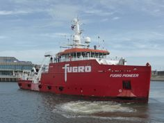 http://koopvaardij.blogspot.nl/2017/06/23-juni-2017-in-de-haven-van.html    FUGRO PIONEER  Bouwjaar 2014, imonummer 9701645, grt 1322  Manager Fugro Marine Services B.V., Leidschendam