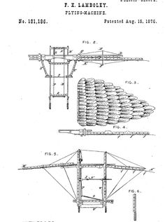 Flying machine/ornithopter.