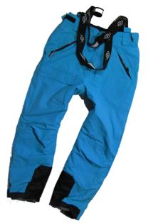 ladies ski pants blue with suspenders Funk Waterproof  Hydra M #Funk