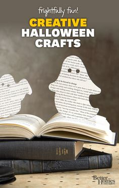 Scare up some fun with these easy Halloween crafts: http://www.bhg.com/halloween/crafts/
