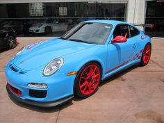 GT3 RS Paint To Sample PTS in Beverly Hills by BeverlyHillsPorsches, via Flickr