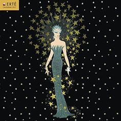 Erté 2017 Square Flame Tree (ST-Glitter) by Flame Tree Pu...