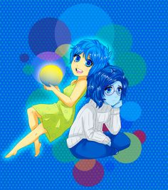 inside out : Joy and Sadness by Arashi-Matoi on DeviantArt