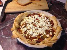Shakshuka pie Sami Tamimi, Best Cookbooks, Yotam Ottolenghi, Best Food Ever, Jerusalem, Pie, Desserts, Pie And Tart, Pastel