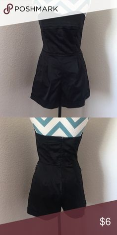 STRAPLESS BLACK ROMPER -Strapless -Romper -Runs Small  HIT THAT OFFER BUTTON (: Other