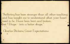 Funny Charles Dickens, Great Expectations