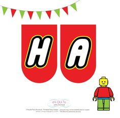 8 Best Images of Happy Birthday Banner Printable PDF - Printable LEGO Birthday Party Sign, Free Printable Happy Birthday Banner and Happy Birthday Printable Banner Letters Happy Birthday Banner Printable, Free Printable Banner Letters, Diy Birthday Banner, Birthday Tags, Lego Birthday Party, Happy Birthday Banners, 7th Birthday, Lego Themed Party, Step On A Lego