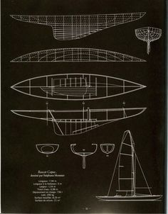 Blue Prints, Le Havre, Boat Plans, Wooden Boats, Boat Building, Model Ships, Sailboats, Origami Paper, Boating
