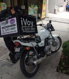 It's not an iPod, an iPad or an iMac, it's Mexico's iVoy courier service