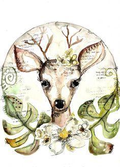 Deer You art print
