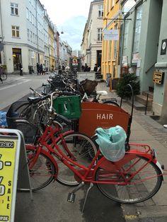 Sykkelparkering, København