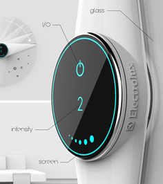 Attracto is an air cleaner that uses electrostatic attraction to trap the dust on its surface and then clean it. The reason why TV screens, PCs and electronic devices accumulate so much of dust is because they generate an electrostatic field, which attracts the dust. The Attracto is designed as a glass circular device that is powered by induction. It features two rotating blades that clean the glass once the dust is trapped.