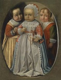 Dutch School, 1st half of the 17th Century Group portrait of three young children, oil on canvas, 70 x 53 cm, framed Dorotheum auctions Old Master Paintings Auction Date: 11.06.2013 - 16:00 Lot 127