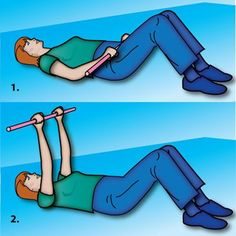 Wand Lift for Arm Exercises