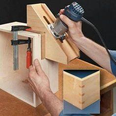 Идея бабочка Хофмана #WoodworkingTips