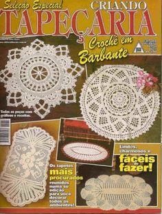 TAPEÇARIA Croche em Barbantes - Zuleika Sousa - Album Web Picasa