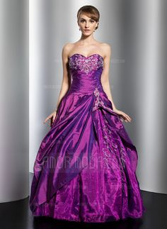Quinceanera Dresses - $199.99 - Ball-Gown Sweetheart Floor-Length Taffeta Organza Quinceanera Dress With Embroidered Beading Sequins Cascading Ruffles (021014761) http://hochzeitstore.com/Ball-gown-Sweetheart-Floor-length-Taffeta-Organza-Quinceanera-Dress-With-Embroidered-Beading-Sequins-Cascading-Ruffles-021014761-g14761