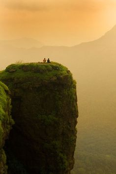 Somewhere in India is this perfectly located rock for wanderlusting /// #travel #backpacking #adventure