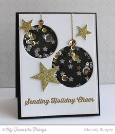 Sending Holiday Cheers (MFT Blog) - Ornaments & Stars