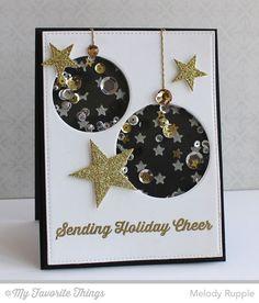Sending Holiday Cheers (MFT Blog) - Ornaments & Stars
