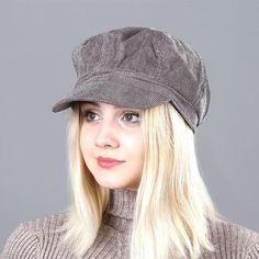 Women's Beret Hat New Arrivals Octagonal Hats For Women Fashion Corduroy Vintage Boina Autumn Winter Newsboy Caps #HatsForWomenBeret