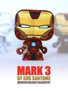 Mini Papercraft: IRONMAN - MARK 3