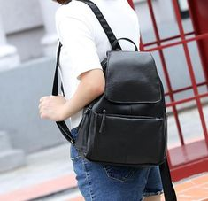 Men's Bags Precise Jooz Simple Designer Women Backpacks Solid Vintage Girls Book Bags For School Backpack Brown Quality Leather Women Backpack 50% OFF Backpacks