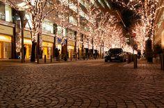 Illuminated Street