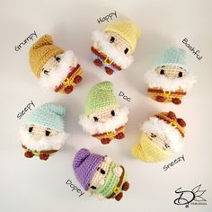 Free Disney Tsum Tsum Crochet Patterns - - My daughter loves Tsum Tsums, and I recently posted a round up of my favourite amigurumi crochet animals which I wish I had the talent to m. Disney Crochet Patterns, Crochet Pattern Free, Crochet Animal Patterns, Crochet Patterns Amigurumi, Stuffed Animal Patterns, Cute Crochet, Crochet Crafts, Crochet Dolls, Crochet Projects