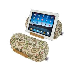 Bamboosa Lap Log Soft Ipad Tablet Stand Comfortable Choice For