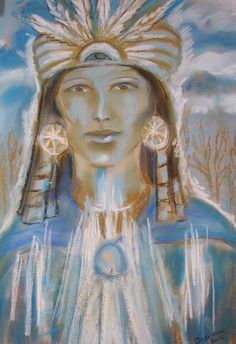 Spirit Guide/past life portrait pastel on paper, Psychic Art Spirit Guides, Past Life, Angels, Pastel, Portrait, Painting, Art, Art Background, Cake