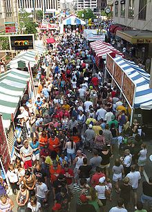 Taste of Cincinnati is the longest running culinary arts festival in the United States. Starting in 1979, the festival has been held annually on Memorial Day weekend in Downtown Cincinnati, Ohio and draws over 500,000 people each year.