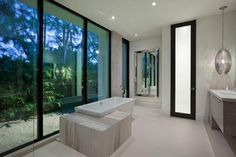 Home in Boca Raton by Marc-Michaels Interior Design