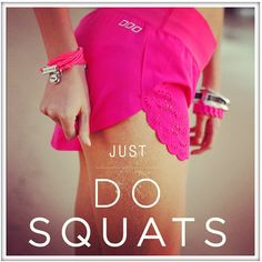 Squats are the key to happiness I think....summer bikini here I comeee