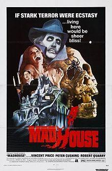 madhouse (of dr. death), 1974, vincent price, murder, horror, psychological thriller, fantastic, one of price's best