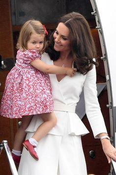 Prince George and Princess Charlotte in Poland - Royal Tour of Poland Photos