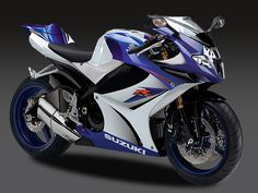 GSXR 1000...One of my dream bikes..mine is metallic burgundy, though...and it still waits for me at the store!