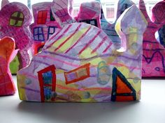 year 7 Hundertwasser box buildings