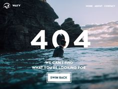 Daily UI - 404 Page designed by Stevan Gacanovic. the global community for designers and creative professionals. Website Design Inspiration, Web Design Trends, Design Web, 404 Pages, Web Patterns, Quirky Art, Error Page, Daily Ui, Design Research