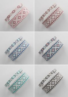Your place to buy and sell all things handmade - Bead loom pattern LOOM bracelet pattern miyuki pattern Loom Bracelet Patterns, Bead Loom Bracelets, Bead Loom Patterns, Beaded Jewelry Patterns, Weaving Patterns, Bead Jewelry, Mosaic Patterns, Knitting Patterns, Art Patterns