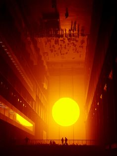 Olafur Eliasson- The Weather Project (2003)