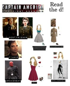 """""""Me in """"Captain America: The First Avenger"""" (Read the d!)"""" by nerdbucket ❤ liked on Polyvore featuring Forever 21 and yeswalker"""