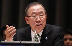 Secretario General de la ONU, Ban Ki-moon  Foto archivo:UN Photo/Paulo Filgueiras