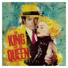 madonna, michael jackson, king of pop, queen of pop, music