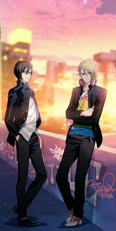 B-Project / Yuzuki & Haruhi Teramitsu - Killer King Cute Anime Boy, Anime Guys, Under The Moon, K Project, Bishounen, Diabolik Lovers, Anime Manga, Kawaii, King