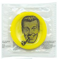 "J R ""bob"" Dobbs high priest of the church of the subgenius.  give me slaCk. ps-(i only WISH this was a disc)!"