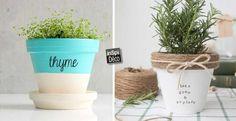 Customiser un pot en terre cuite! 20 idées magnifiques   Vidéo…